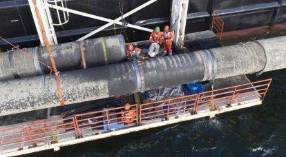 A associação de seguros não fará seguro de navios envolvidos no projeto Nord Stream 2 - ameaças americanas afetaram
