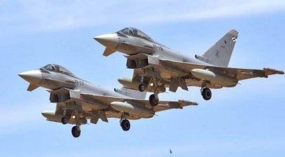 スペインはユーロファイター戦闘機を購入することを決定しました