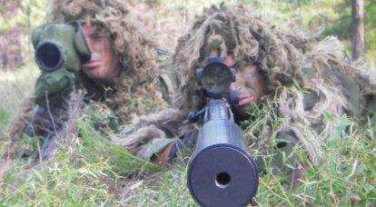 几个狙击手的火控系统