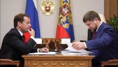 La Cecenia ha nominato la dimensione tributa di Mosca