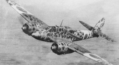 Aviões de combate. Não Messerschmitt, mas semelhante