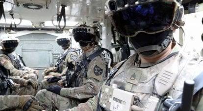 拡張現実IVASの歩兵システム(米国)