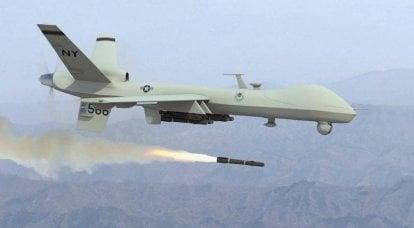 Die Angriffsdrohne des US Air Force MQ-9 Reaper wird die Luftverteidigung der Ukraine überprüfen