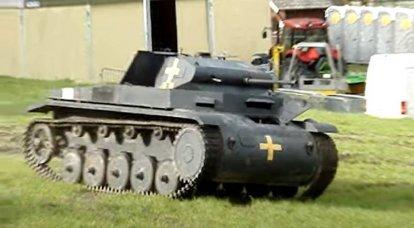 """Luce """"due"""" della Wehrmacht: sul carro armato Panzerkampfwagen II"""