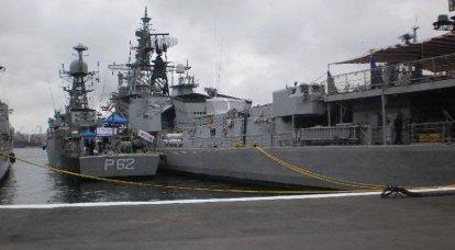 ロシアの太平洋艦隊今日