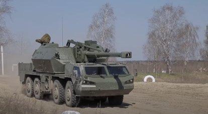 Les parachutistes ukrainiens ont l'intention de se mettre en service avec les canons automoteurs tchèques Dana-M2