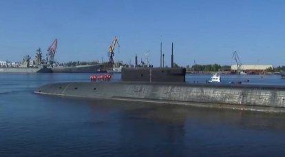 XNUMX隻の新しい潜水艦ミサイル運搬船「Borey-A」の敷設条件