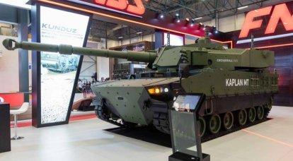 Die erste Serie und Pläne für die Zukunft. Produktion von mittleren Panzern Kaplan MT / Harimau