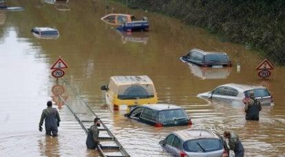 Alluvione nel cuore dell'Europa: nuove vittime del riscaldamento globale