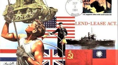 SSCB ve müttefikleri: Ödünç Verme-Kiralamanın kökeninde
