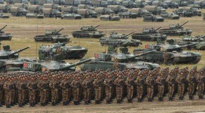 ¿Cuántos tanques tiene China?