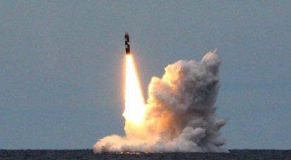 """Test lance les missiles """"Bulava"""" et """"Sinev"""""""