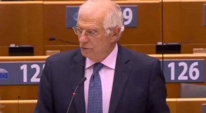Borell a rappelé à Zelensky que l'UE n'est pas un guichet automatique pour l'Ukraine
