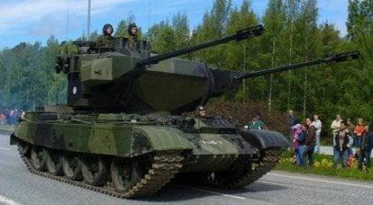 ZSU基于坦克