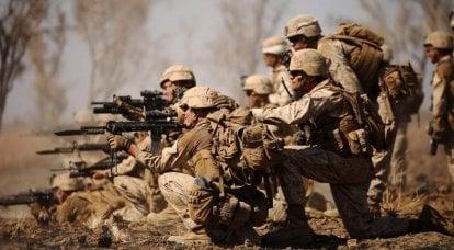 Cães do diabo. Corpo de Fuzileiros Navais dos EUA