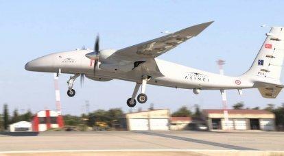 Bayraktar Akinci: el dron de ataque más grande de Turquía
