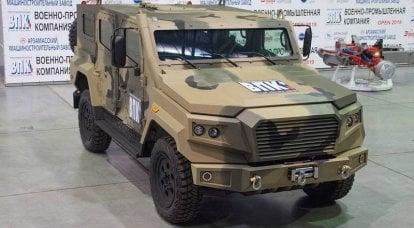 Une nouvelle famille de véhicules blindés a été développée en Russie