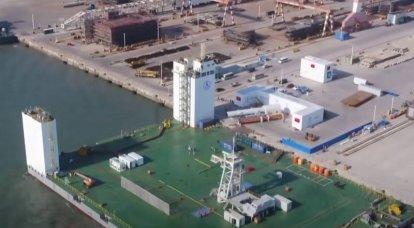 China comienza la construcción de una nueva base para apoyar los lanzamientos espaciales desde una plataforma costa afuera