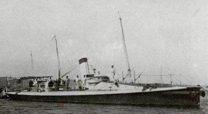 Navires allemands dans la flotte russe