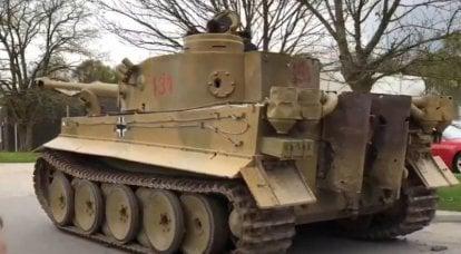 어떤 경우에 포탑이 탱크에서 찢어 졌는지