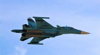 Los estadounidenses admiraron las maniobras del Su-34 ruso en la estratosfera
