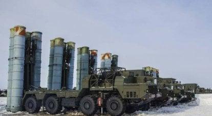 工事中。 北極圏における防空の開発