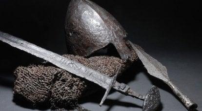 旧的俄罗斯剑。 采购和进口替代