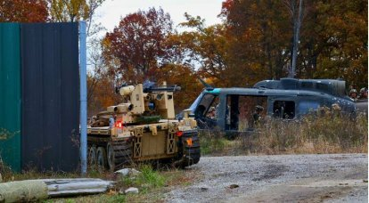 The robot revolution: the US Army intends to arm remotely controlled vehicles