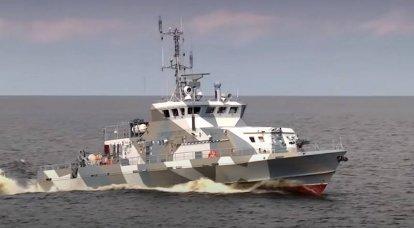 """प्रोजेक्ट 21980 की दो नौकाओं """"ग्रैचोनोक"""" को ज़ेलेनोडॉल्स्क में रखा गया था"""