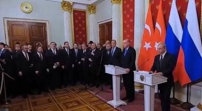 Erdogan se refirió a los intereses no solo de Rusia, sino también de China en Asia Central.