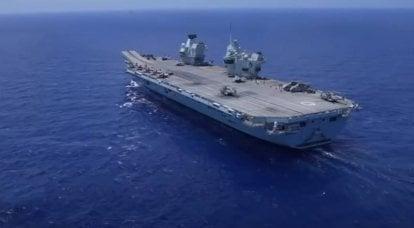 Sohu: Após o incidente com o HMS Defender, o porta-aviões britânico Queen Elizabeth se transforma em alvo de mísseis hipersônicos russos no Mediterrâneo