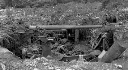 対戦車防衛における日本の対空砲