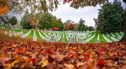 Am Tag der Einweihung in Washington wurde beschlossen, sogar den Militärfriedhof von Arlington zu schließen.