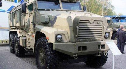 """项目""""台风"""" - 基于乌拉尔的装甲车 -  63095"""