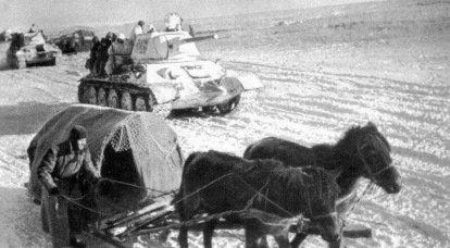 Nikolay Lebedev. Fırtına Romen 1. Panzer Bölümü