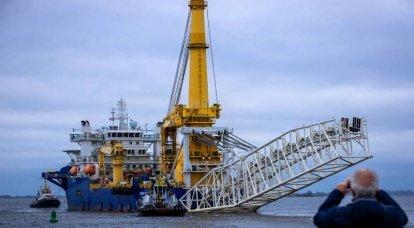 """Esquecido """"Chersky"""", cansado """"Fortuna"""". Crônicas de julho de """"Nord Stream"""""""