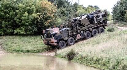軍用トラック Rheinmetall MAN Military Vehicles、生産を拡大