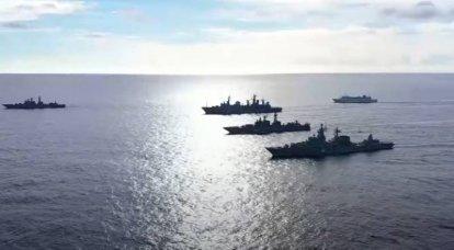 रूस ने सोवियत काल के बाद से प्रशांत महासागर में सबसे बड़ा नौसैनिक अभ्यास किया