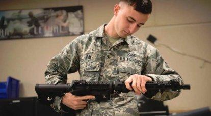 GAU-5 / A pour les situations d'urgence. Dans l'US Air Force, maîtrisez le fusil de survie