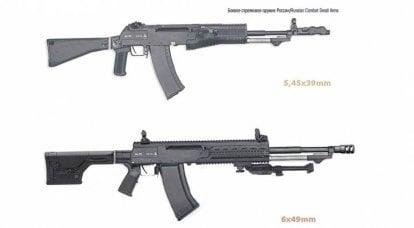Unutulmuş Sovyet kartuş 6x49 mm vs kartuş 6,8 mm NGSW