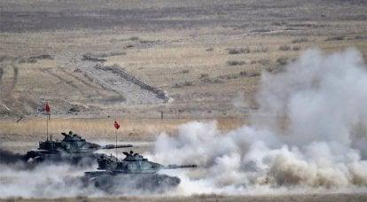 एर्दोगन ने उत्तरी सीरिया में एक अभियान शुरू करने की घोषणा की: टैंक सीमा पार करते हैं