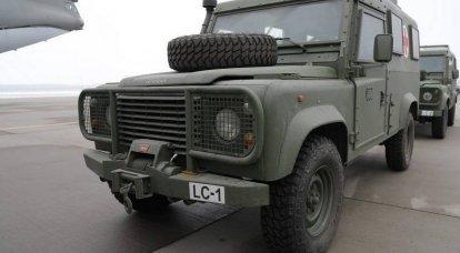 """""""Pour un soutien sur le chemin de l'OTAN"""": la Lettonie a remis aux forces armées ukrainiennes le deuxième lot de Land Rover développé à la fin des années 1940"""