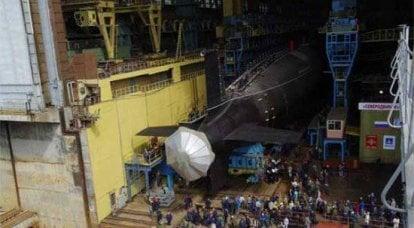 """新一代""""Severodvinsk""""的核潜艇巡洋舰正式启动"""