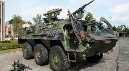 """""""Fox"""" pericolosa al servizio della Bundeswehr. BTR TPz 1 Fuchs"""