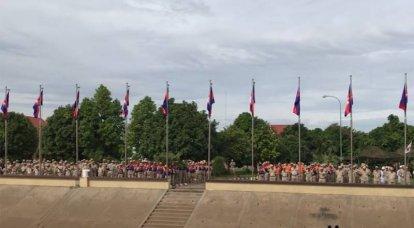 """""""Venha para o porto e você"""": o primeiro-ministro cambojano respondeu às reivindicações dos EUA sobre a entrada de navios chineses na base de Ream"""