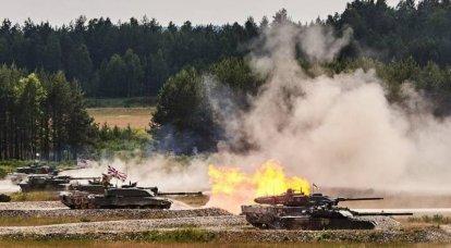 유럽 탱크 바이애슬론 : 전체 - 우크라이나 군사 zrada