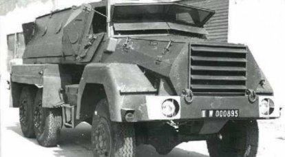 Portaerei blindato Berliet-Lorraine: protezione contro le armi nucleari, mobilità e prezzi bassi