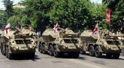 海外からの援助で、2年間のSaakashvili政権はジョージアの軍事的可能性を回復しました