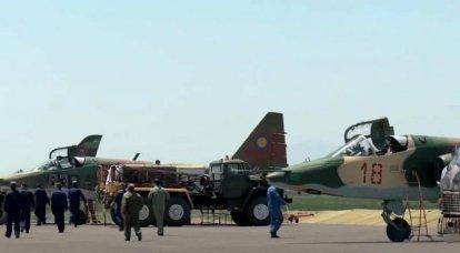 अज़रबैजान अधिकारी: दो अर्मेनियाई Su-25s एक पहाड़ में दुर्घटनाग्रस्त हो गए