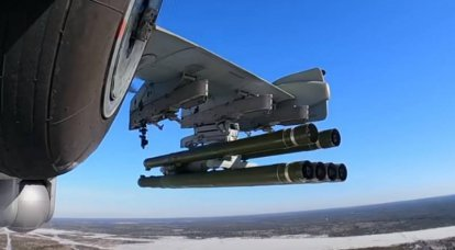 The Whirlwind anti-tank aircraft missile is being adapted to the Mi-28NE and Mi-35P helicopters